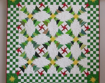 Dancing Trees wall quilt