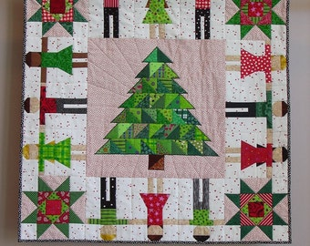 Oh Christmas Tree wall quilt