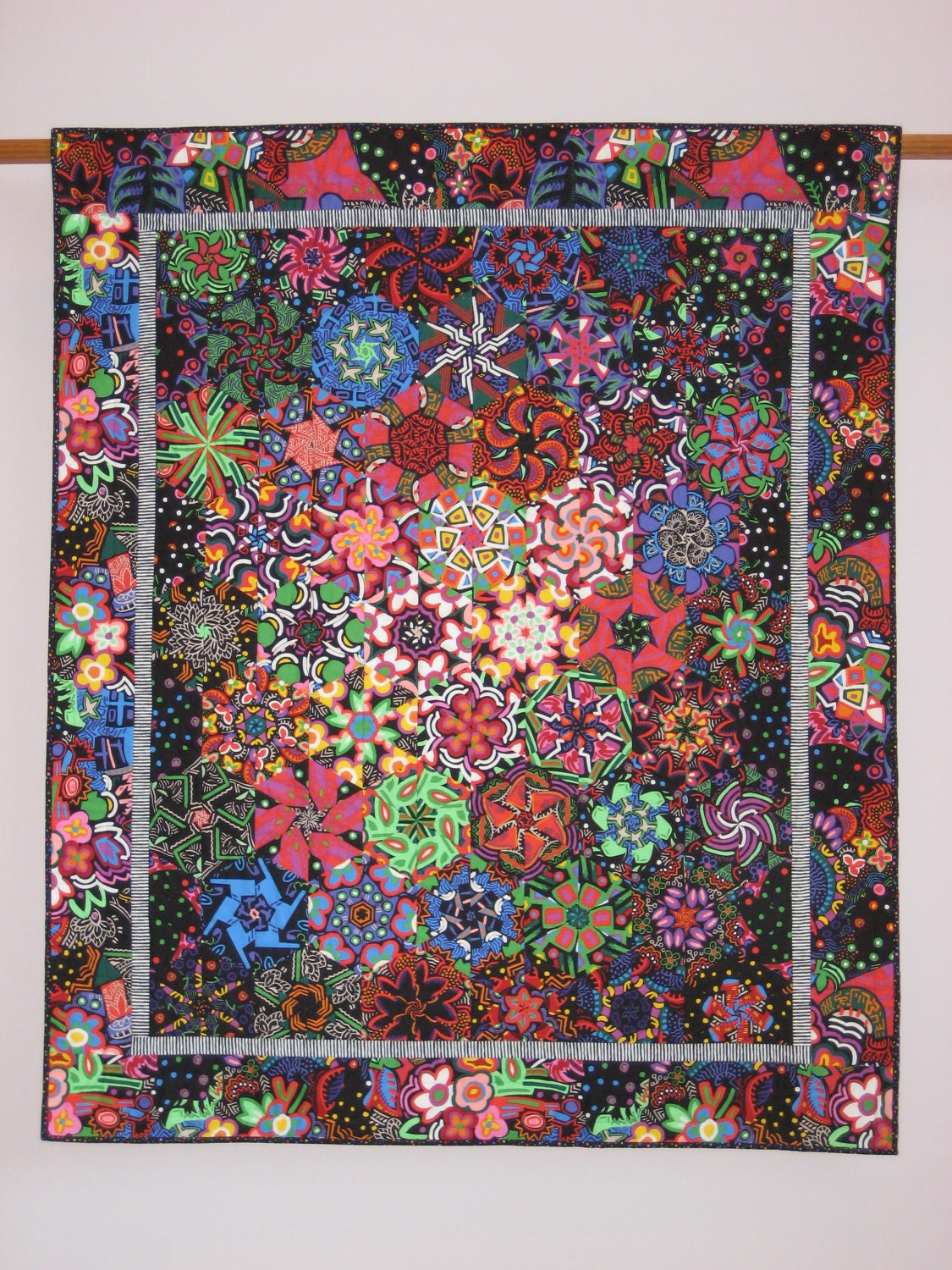 Galaxy 2 wall quilt for Galaxy quilt fabric