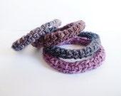 Bangle -Lariat - Wrap Bracelet - Neck Accessories - PDF pattern
