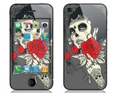 Apple iPhone 3G / 3GS, iPhone 4 / 4s, iPhone 5 / 5s, iPhone 5c, iPhone 6, iPhone 6 Plus Decal Skin Cover - Dia de los Muertos