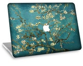 "Apple Macbook Air 11"" 13"" Decal Skin and Apple Macbook Pro 13"" 15"" Decal Skin - Van Gogh Blossoming Almond Tree"