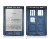 Amazon New Kindle 4 Skin Cover - Police Box