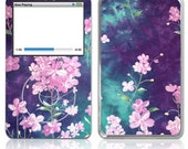 Apple iPod Classic Decal Skin Cover - Midnight Bloom