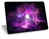 """Apple Macbook Air 11"""" 13"""" Decal Skin and Apple Macbook Pro 13"""" 15"""" Decal Skin - Purple Abstract"""