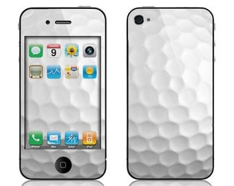Apple iPhone 3G / 3GS, iPhone 4 / 4s, iPhone 5 / 5s, iPhone 5c, iPhone 6, iPhone 6 Plus Decal Skin Cover - Golf Ball