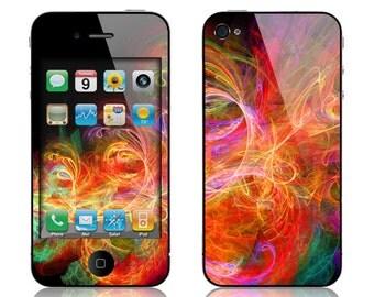 Apple iPhone 3G / 3GS, iPhone 4 / 4s, iPhone 5 / 5s, iPhone 5c, iPhone 6, iPhone 6 Plus Decal Skin Cover - Cornucopia