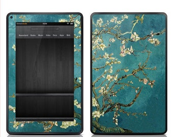 """Amazon Kindle Fire Decal Skin Cover - Kindle Fire HD 7"""" 8.9"""" Skin Cover - Van Gogh Blossoming Almond Tree"""