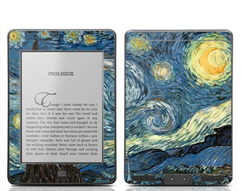 Amazon Kindle Touch Skin Cover - Van Gogh Starry Night