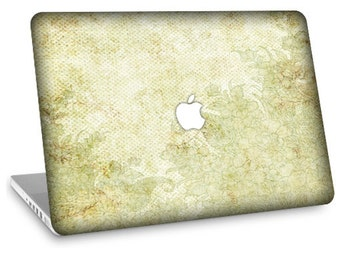 "Apple Macbook Air 11"" 13"" Decal Skin and Apple Macbook Pro 13"" 15"" Decal Skin  - Antique Floral"
