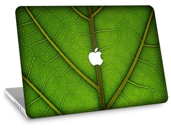"Apple Macbook Air 11"" 13"" Decal Skin and Apple Macbook Pro 13"" 15"" Decal Skin  - Leaf"