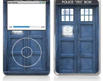 Apple iPod Classic Skin Cover - Police Public Call Box