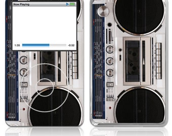 Apple iPod Classic Decal Skin Cover - Boombox
