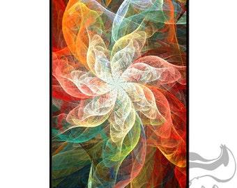 Apple iPhone 4 4S Slim Hard Case  -  Flower