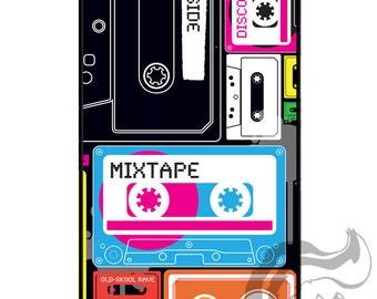 Apple iPhone 4 4S Slim Hard Case  -  Mixtape