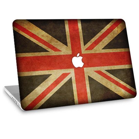 "Apple Macbook Air 11"" 13"" Decal Skin and Apple Macbook Pro 13"" 15"" Decal Skin  - British Flag"