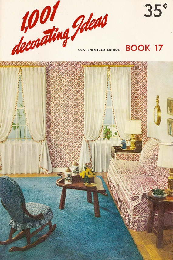 Vintage 1001 decorating ideas book 17 1960 for Home decor 1960s