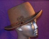 Vintage Men's Dunhill Felt Hat under 50