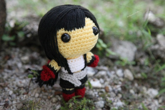 PATTERN: Tifa Lockhart (Final Fantasy VII) - Amigurumi crochet pattern (PDF File)
