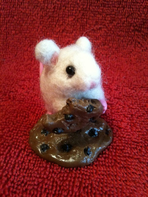 OOAK Needle Felted Mouse RESERVED for MELODY7