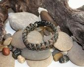Paracord Survival Bracelet - camoflauge colors - Choose 1 Color - COBRA 550-rugged style