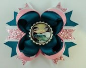"Jasmine Becket-Griffith  "" Sea Turtle Faces of Faery 164 "" boutique hair bow"