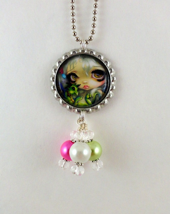 "Jasmine Becket-Griffith  "" Darling Dragonling 4 ""  Necklace"