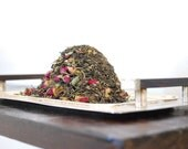 16 oz - Indulge with Organic Rose Mint Jasmine Green tea blend