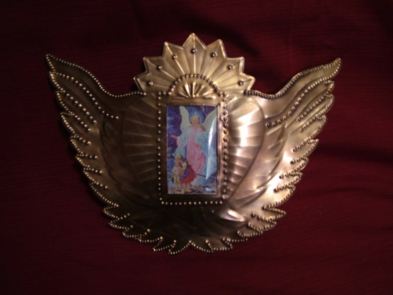 Copper Winged Heart Frame