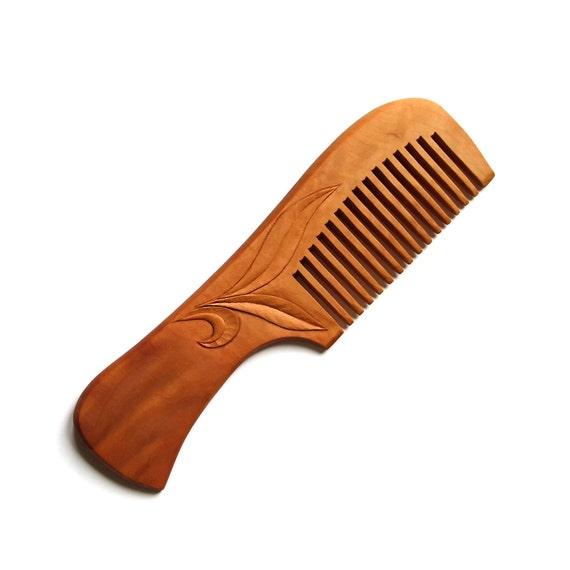 Hair Comb Wood Carving MariyaArts