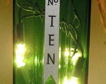 Lighted Bottle No. Ten
