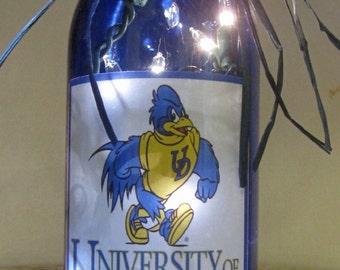 Lighted Bottle University of Delaware