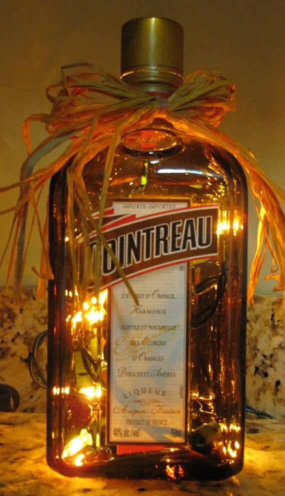 Lighted Bottle Cointreau