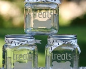 custom etched dog treat jar