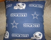 Dallas Cowboys Travel / Toddler / Throw Pillow