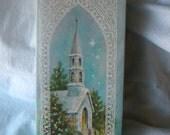 Vintage Sunshine Christian Christmas Cards Boxed set of 10