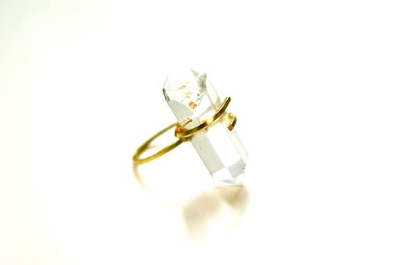 Quartz Wrapped Ring