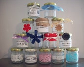 Mini Jar Wedding Favours Samples