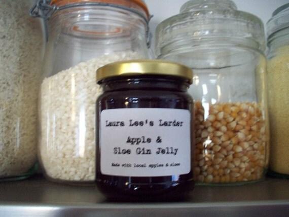 Apple & Sloe Gin Jelly