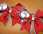"Dr. Seuss ""CHEERTHING"" CHEER BOW"