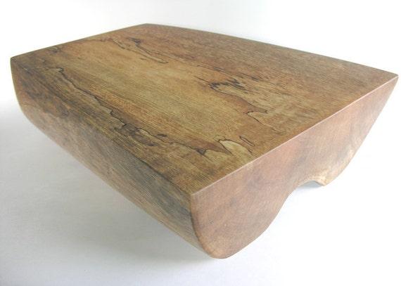 Block Board Solid Wood Board ~ Mango wood cutting board chopping block footed solid