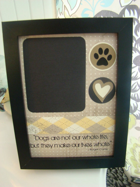 Handmade Picture Frames For Dog Lovers--Include Your Favorite Picture