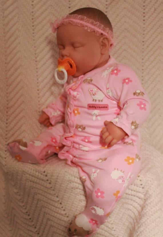 Newborn Baby Reborn Baby Doll 20 Inch Life Size And Real