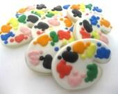 Artist Palette Sugar Cookies - 1 Dozen