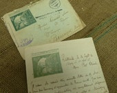 Old Letter from a French Prisoner of War..1918