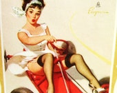 Pin Up Girl Ad Calendar