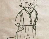 Embroidery Pattern - Thompsen & the Present