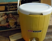 Vintage Coleman Cooler- Gold -PRICE REDUCED-