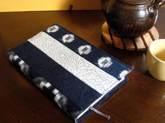 Moleskine Notebook Cover -- Denim and Vintage Japanese Indigo Cloth
