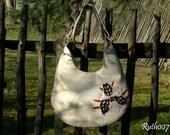 Hand stittched leather handbag (Parfume Atlas)